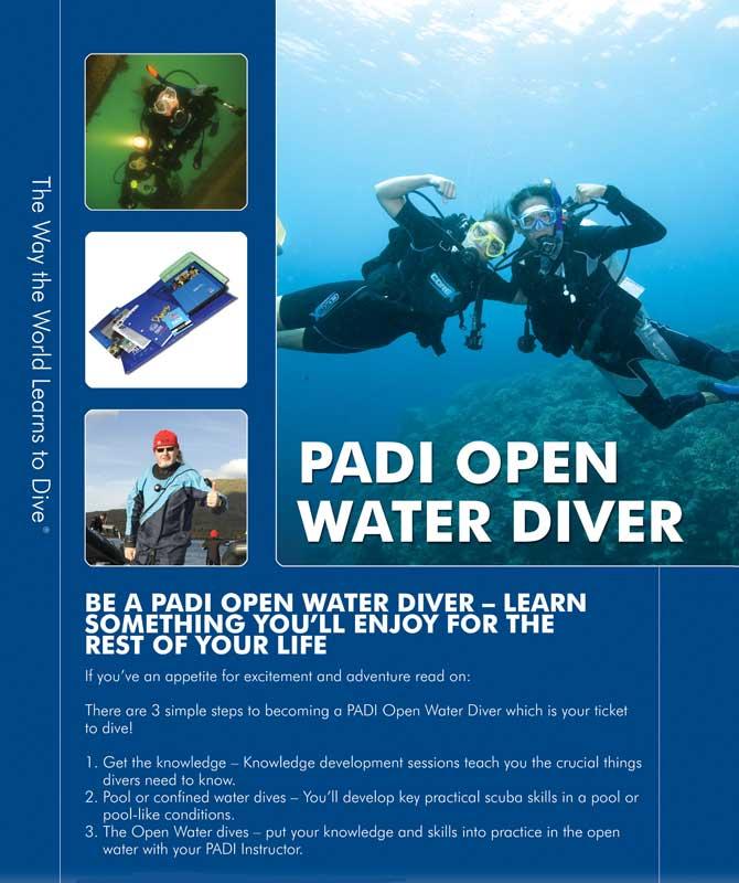 padi open water course u003c the isla mujeres scuba diving blog rh divingisla com Open Water Diver Padi Logo padi open water diver manual 2015