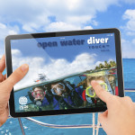 Open water diver touch learning