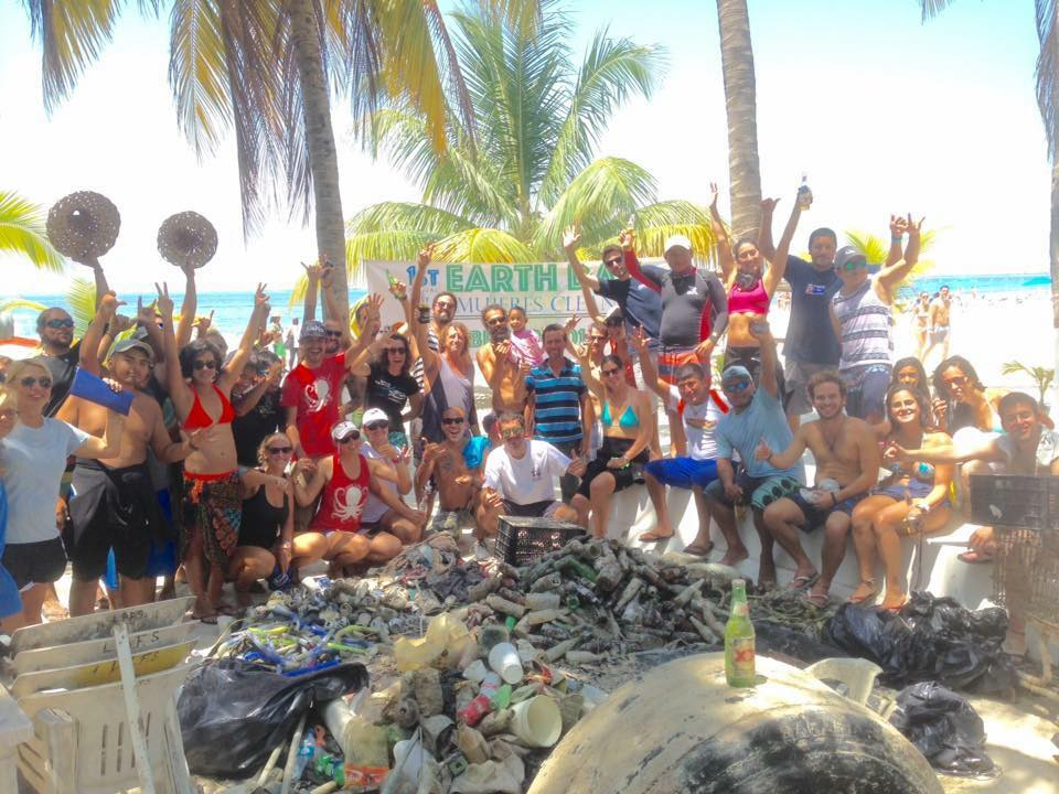 Earth Day Isla Mujeres
